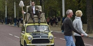driving mr bean