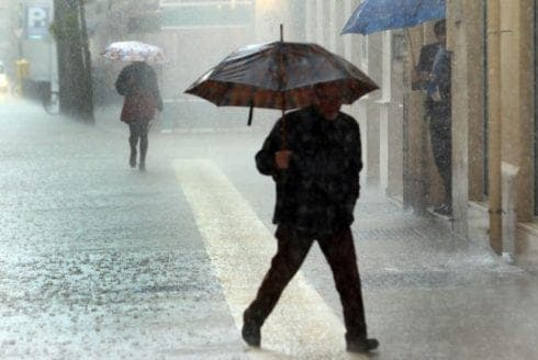 DOWNPOUR: Spain's Costa del Sol on yellow alert for heavy rain and storms this week
