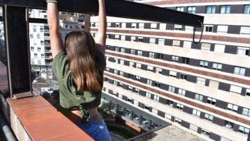 Teenage girl in Spain rescued from eight floor ledge after trying to take 'daredevil selfie'
