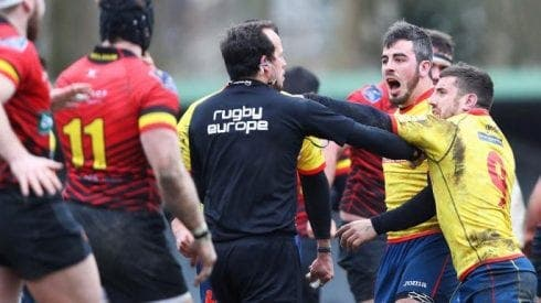 Romanian referee to be investigated for 'suspicious Spain v Belgium' Rugby World Cup qualifier