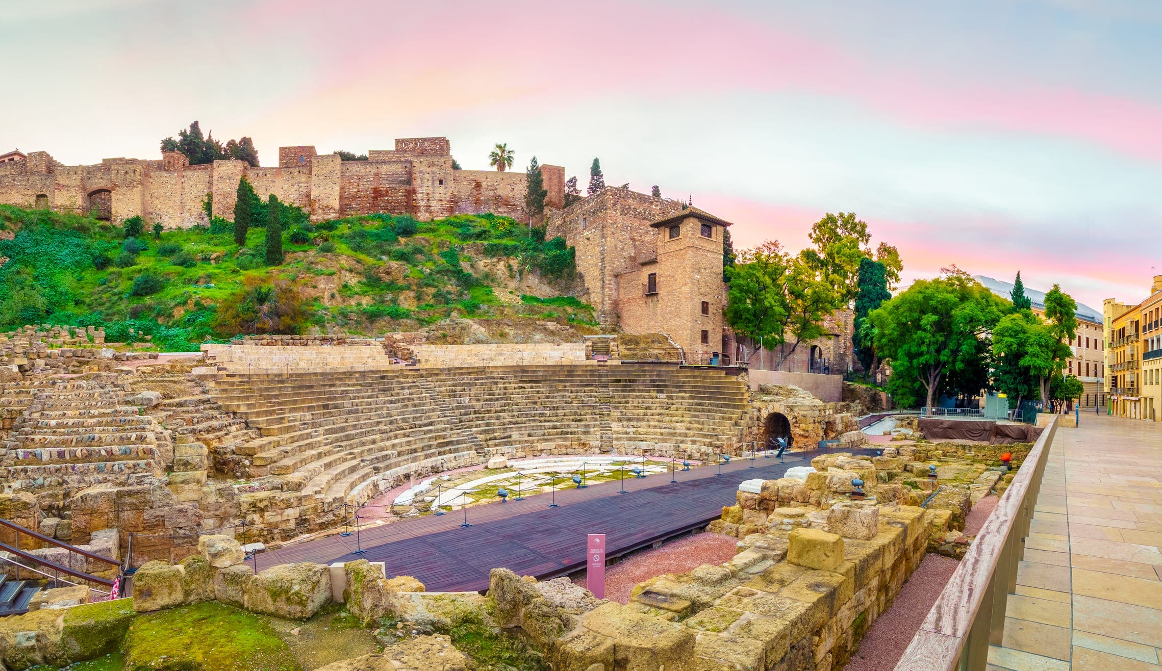 Roman theater malaga