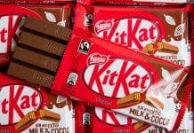 kitkat four fingers pa