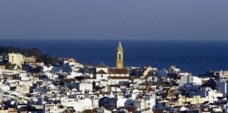 Estepona Málaga vista casco antiguo estepona