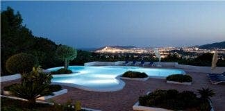 Ibiza top spain property view