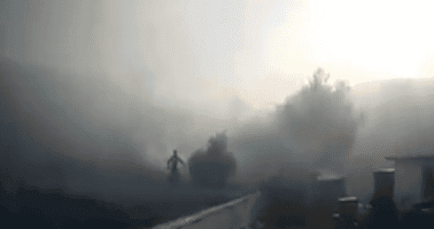 WATCH: Firemen tackle forest fire on Costa del Sol