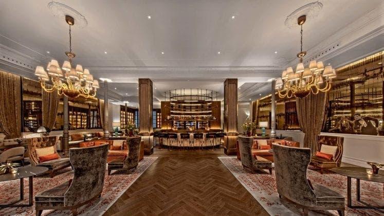 madrid hotel lobby