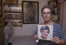 David Guevara picture and mum Antonia