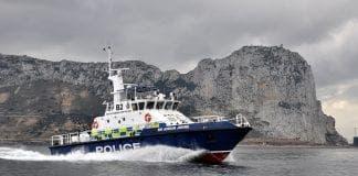 Gib police boat