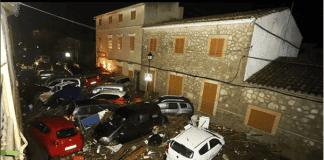 Sant Llorenç destruction
