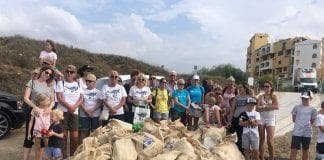 expat hero beach clean up