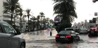 flood marbella