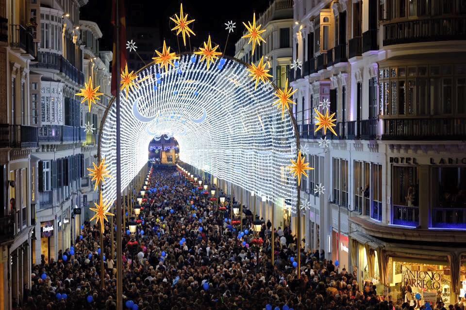 Malaga Christmas Market