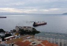 Ship pollution Gibraltar