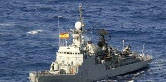 Spain warship