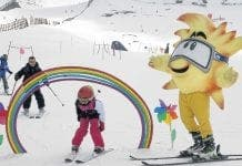 Family friendly skiing for all ages in the Sierra Nevada