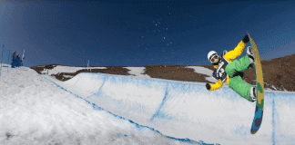 The Sierra Nevada is fast becoming a natural haven for Spain's top snowboarders