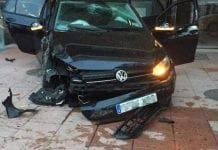 car smash