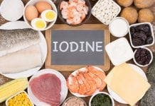 food rich in iodine