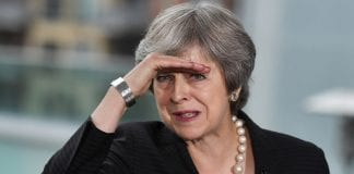 PRESSURE: Theresa May is unlikely to win her Commons vote next week, with many MPs set to vote against her Brexit deal