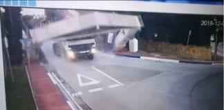 truck smash