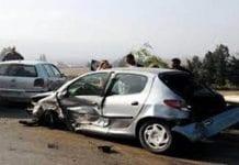 Car crash Brit mum