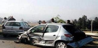 Car crash Brit mum