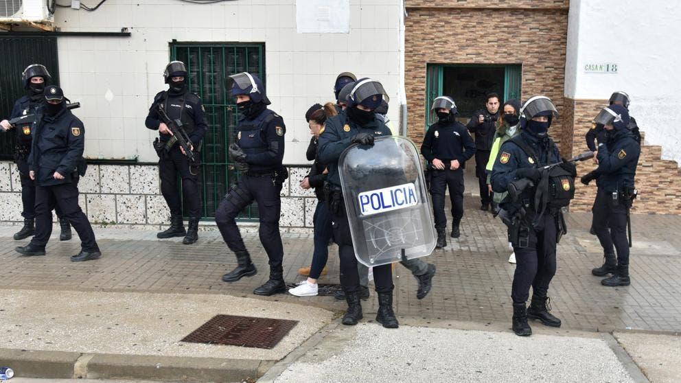 500 police begin HUGE drug bust on Spain's Costa del Sol and