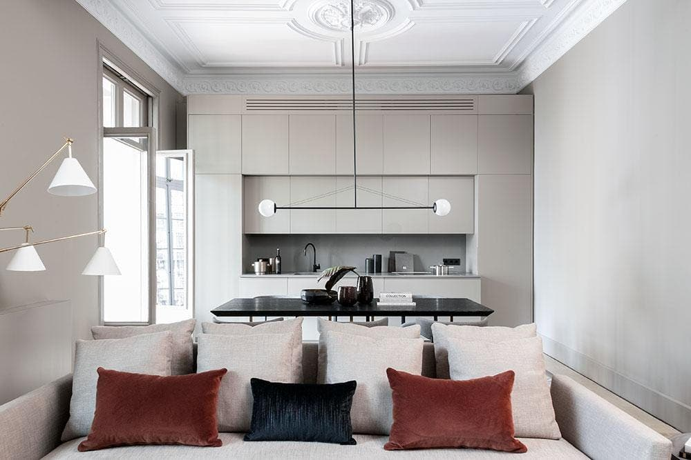 An Award Winning Gaudi Building Has Been Transformed Into A Stylish Apartment Thanks To Local Design Firm