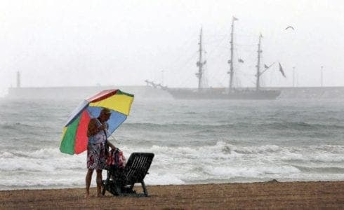 Storm Alex approaches Spain's Costa del Sol as Malaga placed on yellow alert