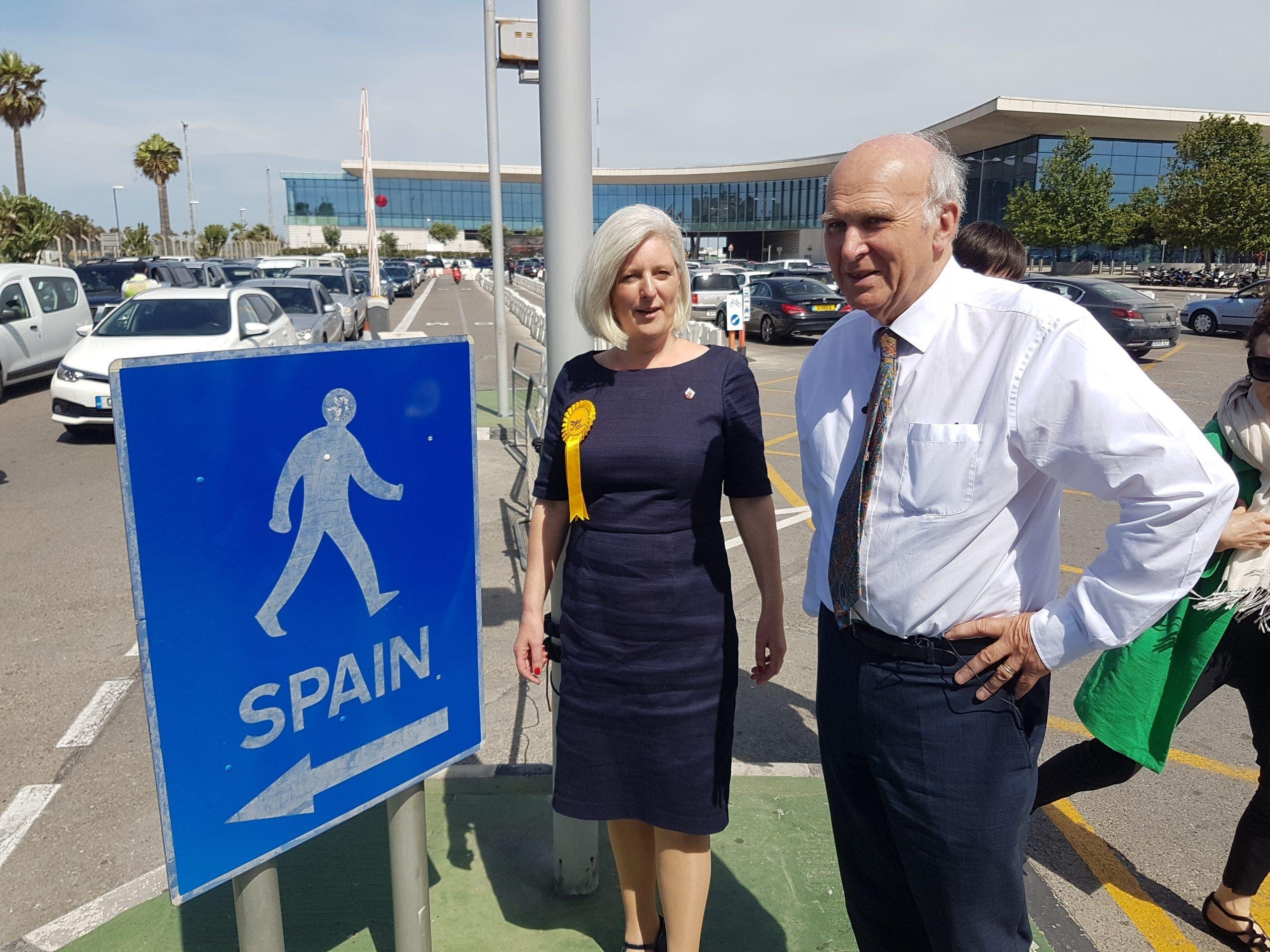 """, Vince Cable dice que el Brexit va a """"realmente lastimar"""" a Gibraltar, mientras Rachel Johnson pide que el artículo 50 sea revocado"""
