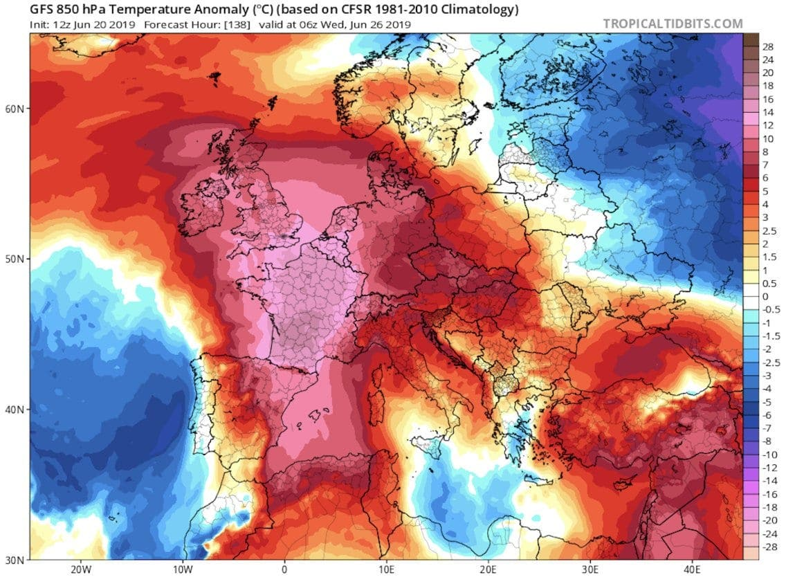 Map Of Spain Showing Costas.Red Alert Spain At Extreme Risk From 40ºc Temperatures But Costa