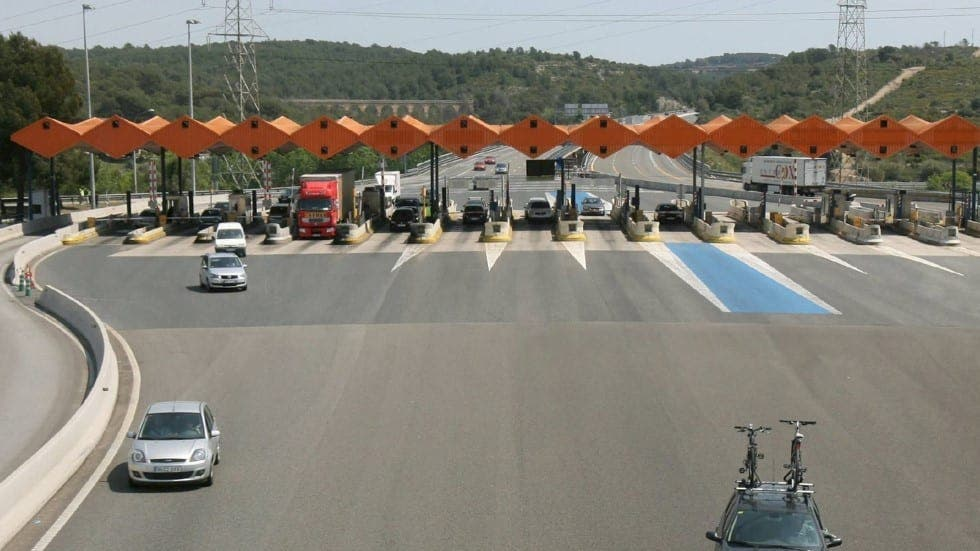 how to pay road tolls in spain