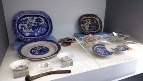 British tea set recovered from 150-year-old shipwreck on show at unique Costa Blanca maritime exhibition