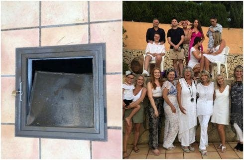 SEPTIC SHOCKER: Company charges for damage to manhole after 15-year-old Brit falls waist-deep into septic tank at 'death-trap' rental villa on the Costa Blanca