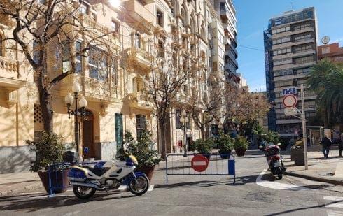 Avenida De La Constitucion De Alicante Peatonalizada En Diciembre De