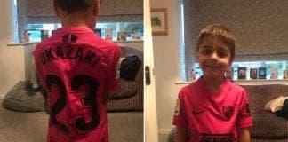 Boy Gets Shinji Okazakis Malaga In Post Weeks After The Striker Left The Club