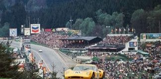 Giles Dad At Spa In 1969