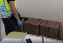 In Huge Drug Bust Kg Of Cocaine Seized By Authorities On Spains Costa Del Sol