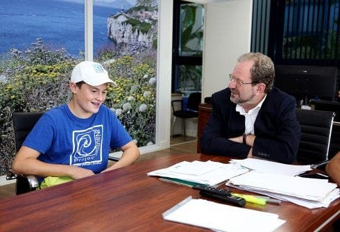 Hero teen praised by Government after diving into sea to rescue sunfish stranded off Gibraltar