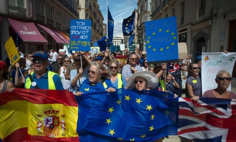 Brexit Protest March