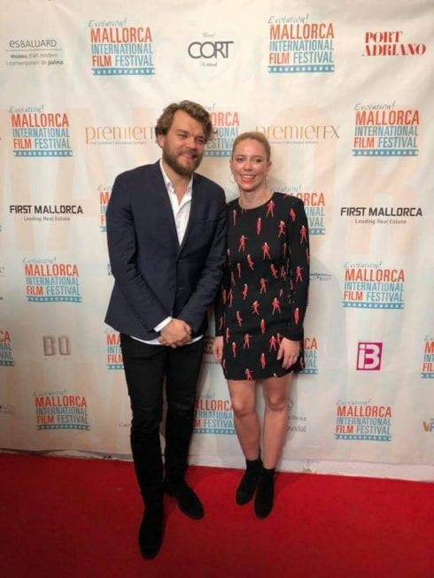 Game Of Throne Star Pilou Asb K With Miff Founder Sandra Seeling Lipski