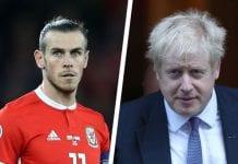 Gareth Bale Johnson
