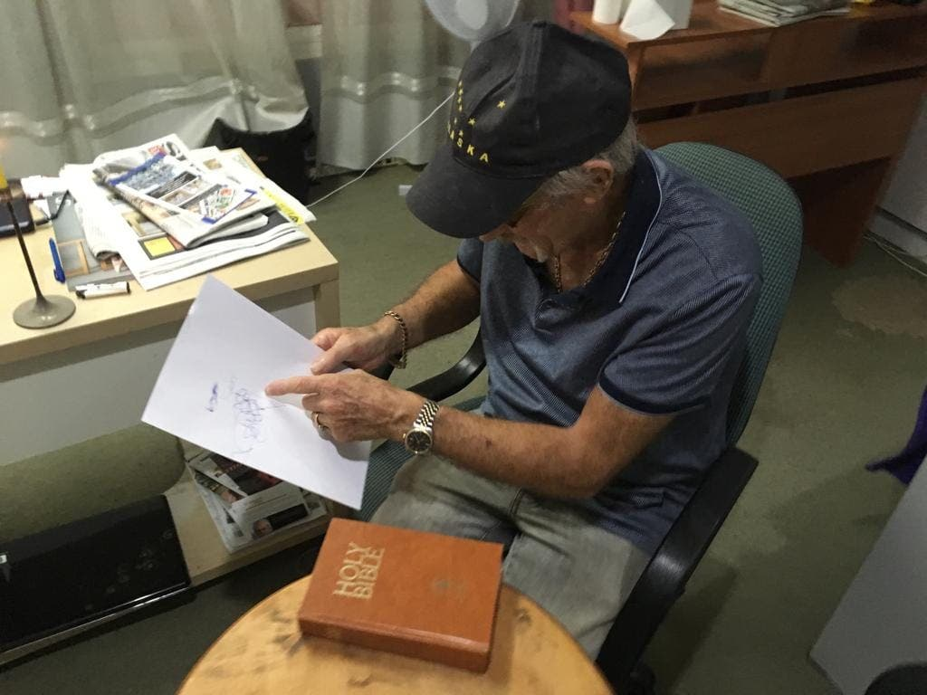 Gerry Automatic Writing