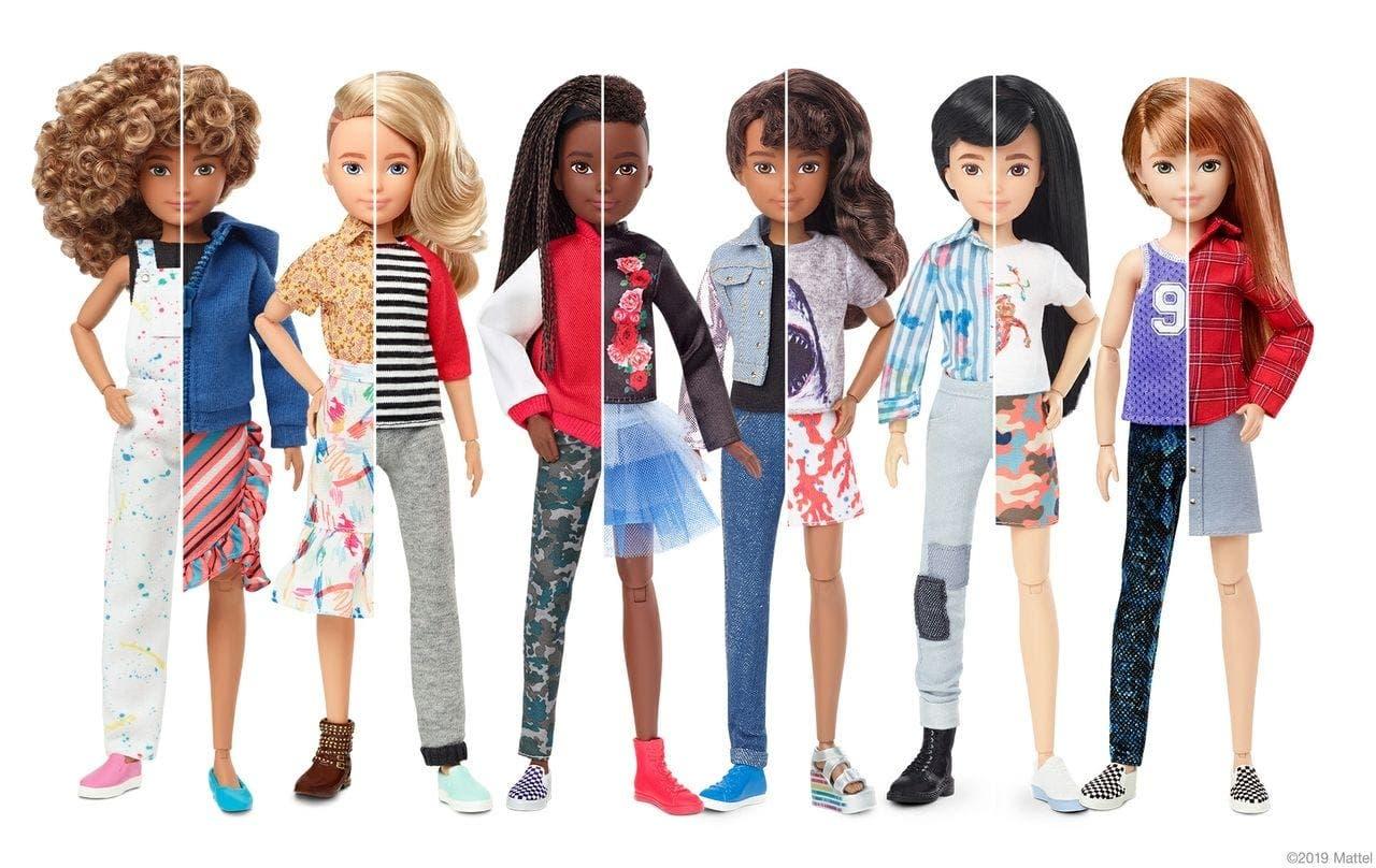 Belinda Girls Will Be Boys Mattel S Gender Neutral Creatable World Collection