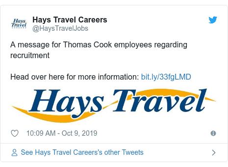 Hays Tweet