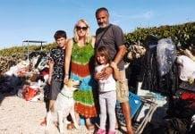 Villa Smashed By Tsunami Family
