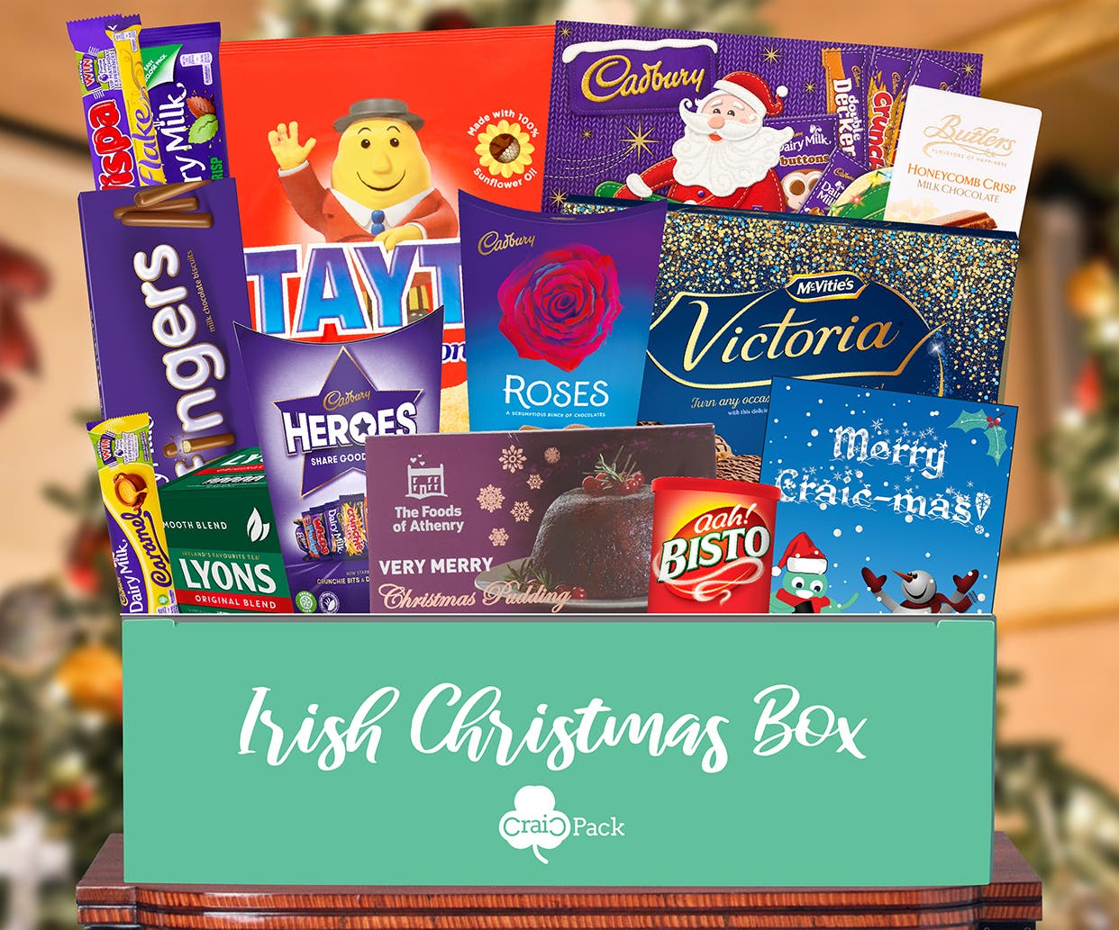 Craicpack Irish Christmas Box