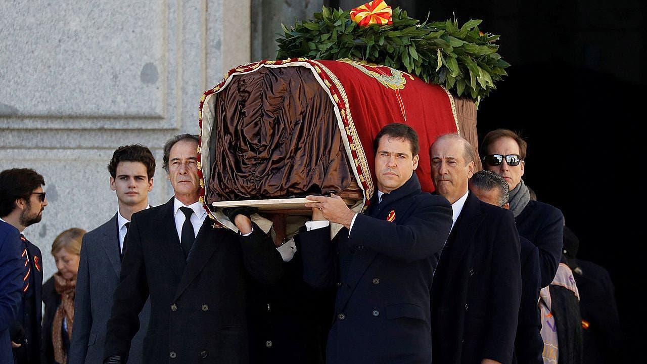 Exhumacion Franco 1