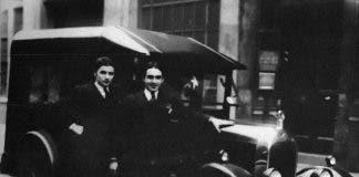 Marino S Grandfather Giacomo Collini In London 1925