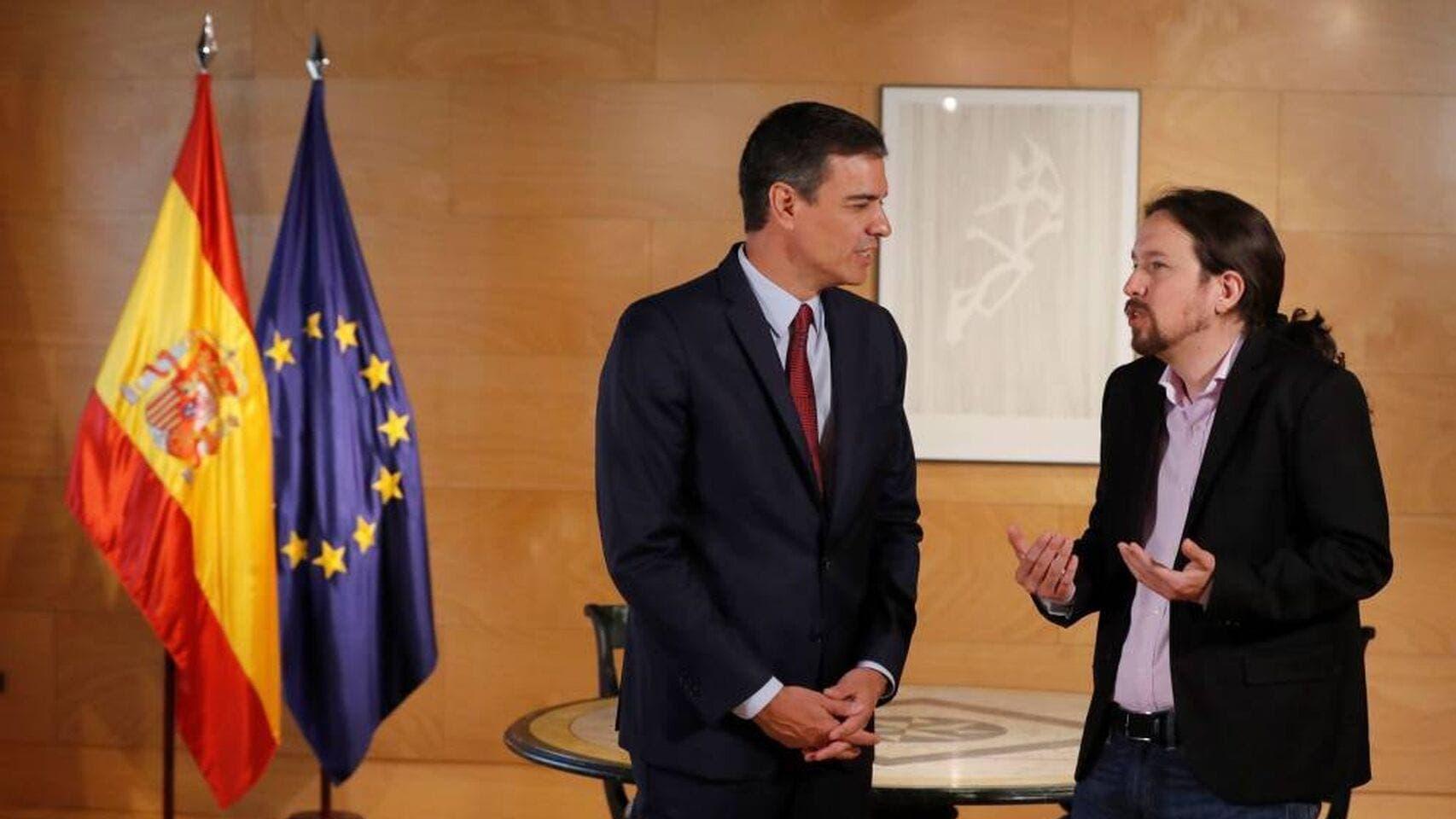 Pedro_sanchez Pablo_iglesias Podemos Psoe Gobierno_de_espana Politica_424469081_133100048_1706x960